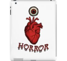 THE HORROR FANATIC ARRIVES iPad Case/Skin