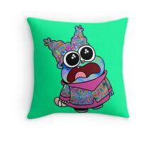 Trippy Chowder (No Rainbow) Throw Pillow