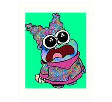 Trippy Chowder (No Rainbow) Art Print