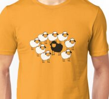 Black Sheep funny nerd geek geeky Unisex T-Shirt