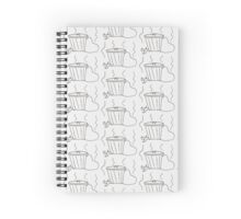 Trash sketch Spiral Notebook