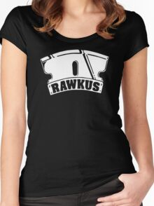 RAWKUS RECORDS Women's Fitted Scoop T-Shirt