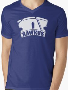 RAWKUS RECORDS Mens V-Neck T-Shirt