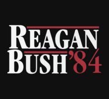 Reagan Bush '84 One Piece - Short Sleeve
