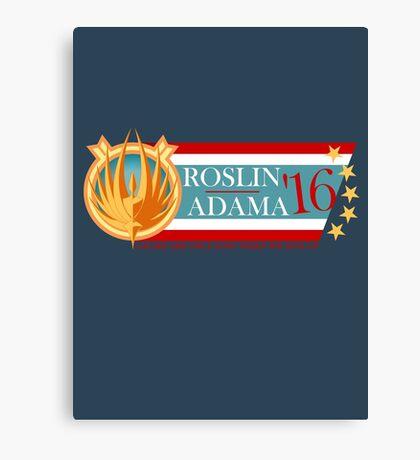 Roslin for President!  Canvas Print