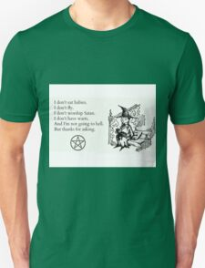 Witches don't... Unisex T-Shirt