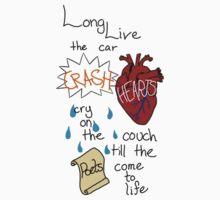 Car Crash Hearts Baby Tee