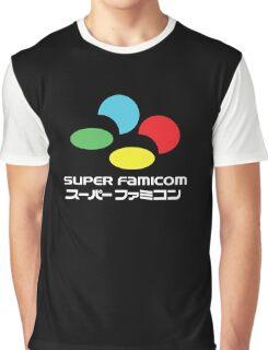 SNES Super Famicom COLOURS Graphic T-Shirt