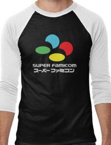 SNES Super Famicom COLOURS Men's Baseball ¾ T-Shirt