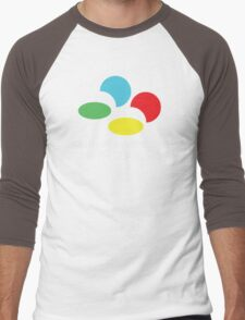 SNES Super Famicom COLOURS Men's Baseball ¾ T-Shirt