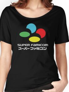 SNES Super Famicom COLOURS Women's Relaxed Fit T-Shirt
