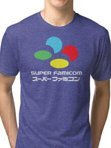 SNES Super Famicom COLOURS Tri-blend T-Shirt