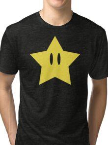 Super Mario Power Star Tri-blend T-Shirt