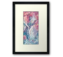 The Albino FoxDragon Framed Print