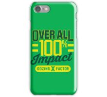Overall Impact iPhone Case/Skin