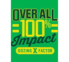 Overall Impact Photographic Print