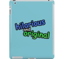 hiLARIOUs anD ORigINAL iPad Case/Skin