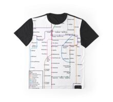 Internet Map Graphic T-Shirt