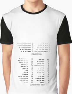 Morse Code 1.0 Graphic T-Shirt
