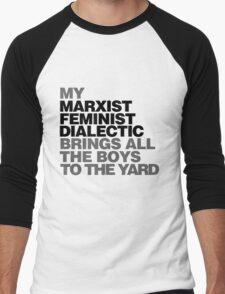 My Marxist feminist dialectic Men's Baseball ¾ T-Shirt