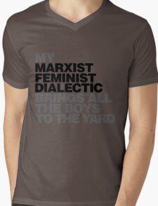 My Marxist feminist dialectic Mens V-Neck T-Shirt