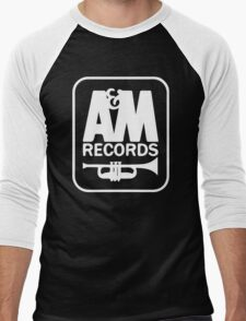 A&M RECORDS VINTAGE Men's Baseball ¾ T-Shirt