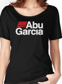 Abu Garcia Fishing Reel Logo Women's Relaxed Fit T-Shirt