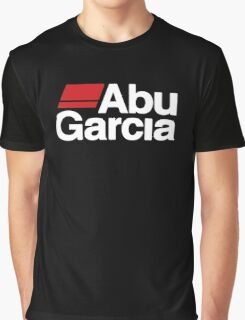 Abu Garcia Fishing Reel Logo Graphic T-Shirt