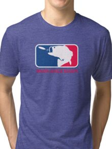 Major League Bassin Tri-blend T-Shirt