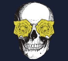 Skull & Roses   Pink & Yellow One Piece - Long Sleeve
