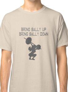 Bring Sally Up Bring Sally Down funny nerd geek geeky Classic T-Shirt