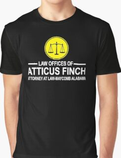 Atticus Finch Funny Graphic T-Shirt