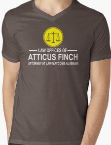Atticus Finch Funny Mens V-Neck T-Shirt