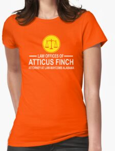 Atticus Finch Funny Womens Fitted T-Shirt