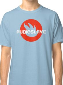 AUDIOSLAVE Rock Band Logo Classic T-Shirt