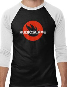 AUDIOSLAVE Rock Band Logo Men's Baseball ¾ T-Shirt