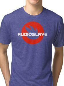 AUDIOSLAVE Rock Band Logo Tri-blend T-Shirt