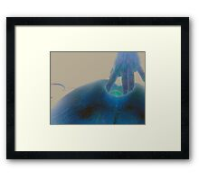 Looking Beneath the Surface of the Earth Framed Print