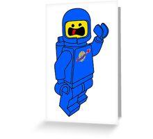 SPACESHIP! Greeting Card
