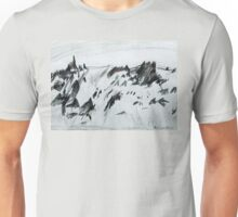 Antarctic Mountain Range Unisex T-Shirt