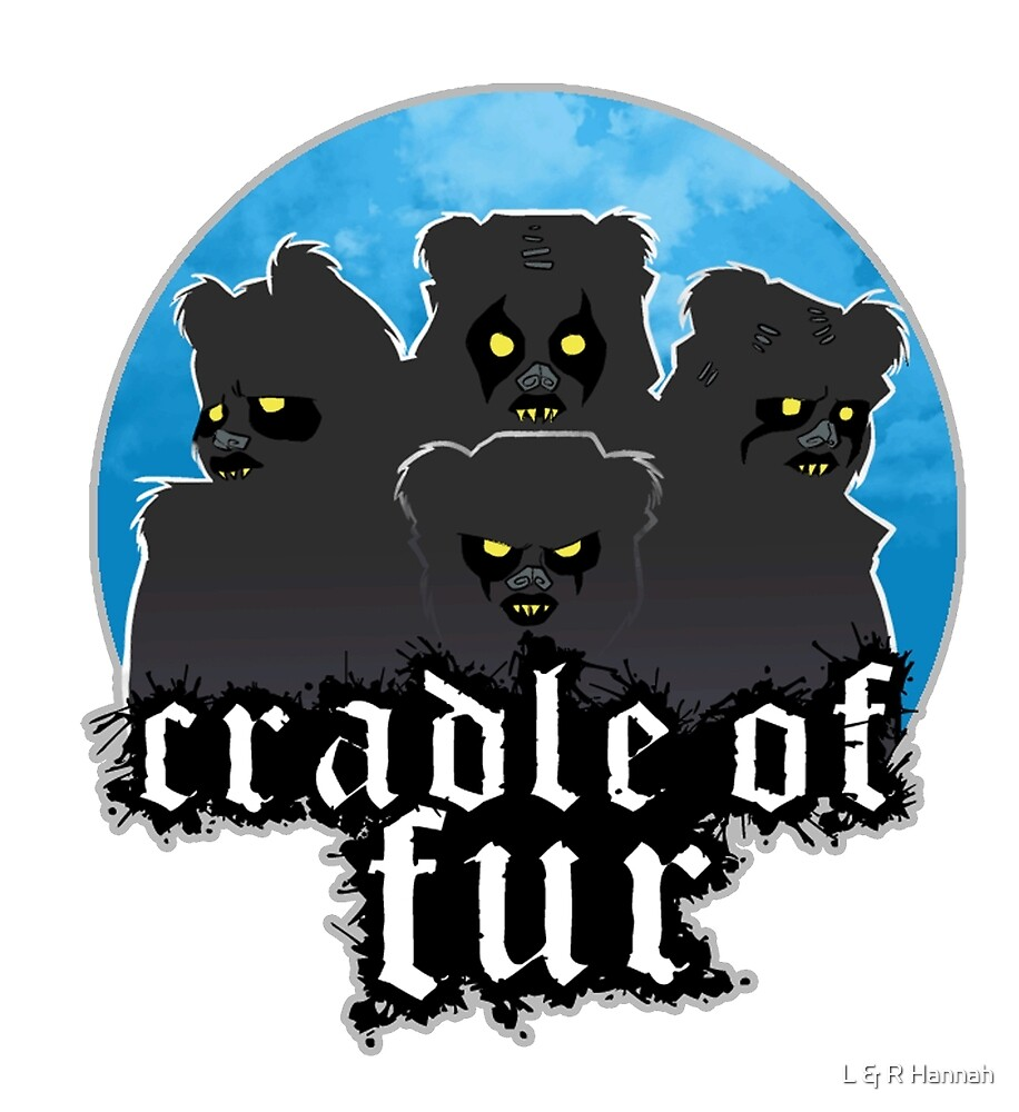 Cradle of Fur - Silhouette by L & R Hannah