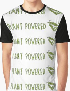 Plant Powered (Peas) Graphic T-Shirt