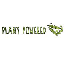 Plant Powered (Peas) by ginpix