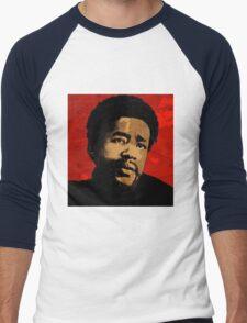 BOBBY SEALE-BLACK PANTHER Men's Baseball ¾ T-Shirt