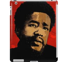 BOBBY SEALE-BLACK PANTHER iPad Case/Skin
