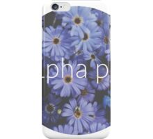 Alpha Phi iPhone Case/Skin