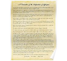 A Declaration of the Independence of Cyberspace Poster