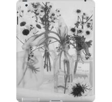 Four Bottles And Their Flowers iPad Case/Skin
