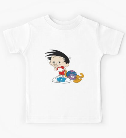Bobby's World - Bobby & Webbly color Kids Tee