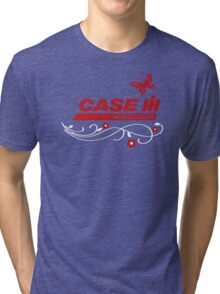 Case IH Farm BUTTERFLY Tri-blend T-Shirt